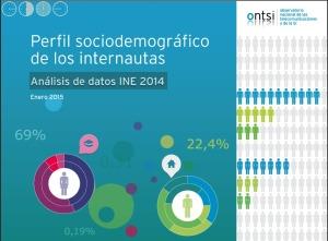 perfil sociodemográfico internautas